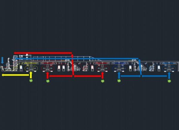 синхронизация сплайсировки - гофроагрегат
